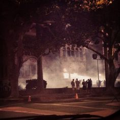 nutzoyc:    They are filming American Horror Story near my house… (Taken with Instagram at Old Orange County Courthouse)