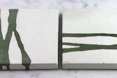 Inlayed Concrete Coasters