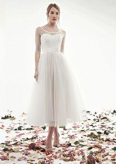 свадебные платья короткие - 10 КР09