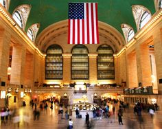 Grand Central Station, New York City.