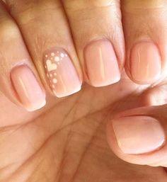 28 Glam Wedding Manicure Ideas That Totally Nail It 28 Zauberhochzeits-Maniküre-Ideen, die es total nageln Cute Nails, Pretty Nails, My Nails, Nails 2017, Pink Nails, Fancy Nails, French Manicure Nails, Manicure Ideas, Bridal Nails French