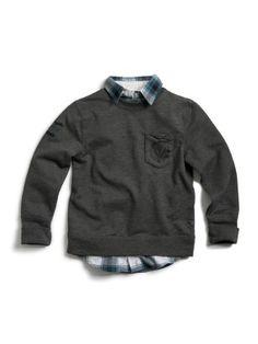 GUESS Kids Boys Long-Sleeve Knit Shirt « Clothing Impulse