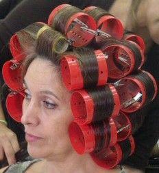 Big Hair Rollers, Perm Rods, Roller Set, Hair Flip, Curlers, Hair Beauty, Rollers In Hair, Cute Hair