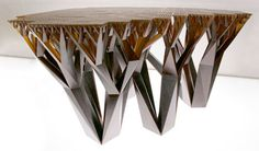 Fractal Furniture is NOW HERE! Fractal Table www.miqel.com
