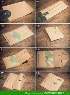 DIY CD cover. I'll be needing this.