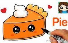 how to draw cute candy corn easy cartoon food - cute food drawings Cute Food Drawings, Cartoon Drawings Of Animals, Drawing Cartoon Characters, Cute Kawaii Drawings, Cartoon Girl Drawing, Cartoon Pics To Draw, Drawing Cartoons, Unicorn Drawing, Draw So Cute Food