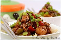 Healthy Sesame Chicken - good suggestion on cooking chicken in comments.