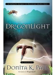 DragonLight Paul, Donita K. With the evil apparently banished from the land, a new religious movement arises—but is it a blessing or a curse? Also, waves of tiny but destructive dragons may herald the awakening of an ancient, unstoppable dragon. 5th book in Dragonspell series.