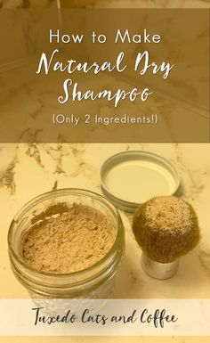 Facial Hair Removal Methods: How to Make Natural Dry Shampoo How To Make Shampoo, Homemade Dry Shampoo, Natural Dry Shampoo, Homemade Eye Cream, Homemade Conditioner, Homemade Facials, Homemade Beauty, Remove Unwanted Facial Hair, Unwanted Hair
