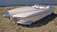 1951 Studebaker Manta Ray ... something different. ..I think it looks like a boat lol