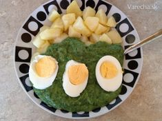 Špenátový prívarok Cantaloupe, Ale, Eggs, Fruit, Cooking, Breakfast, Fitness, Kitchen, Morning Coffee