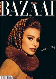 Harper's Bazaar 1992 | Niki Taylor