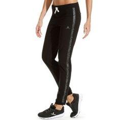 Pantalon Bas resserré Active fitness femme noir DOMYOS 3df852b0d36