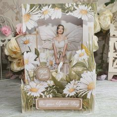 Debbie Moore, Art Deco Cards, Spring Fairy, Arts And Crafts, Paper Crafts, Facebook Sign Up, Fairies, Birthday Cards, Birthdays