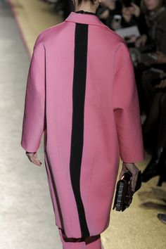 Cedric Charlier Fall 2013 Red And Pink c340b46f6