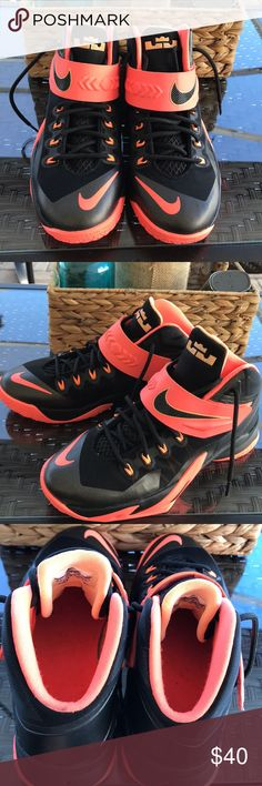 timeless design e589f fae31 Nike Lebron James Soldiers BlackPeach