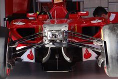 Round 1, Rolex Australian Grand Prix 2013, Preparation, Scuderia Ferrari F138, Front Suspension Detail