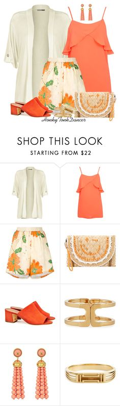 """Floral Pleated Shorts"" by honkytonkdancer ❤ liked on Polyvore featuring WearAll, Miss Selfridge, Roseanna, Anya Hindmarch, Tory Burch, floralprint, summerfashion and pleatedshorts"