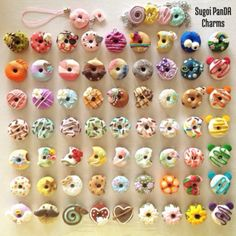 POLYMER CLAY DONUTS UPDATE!!!*\(^o^)/*