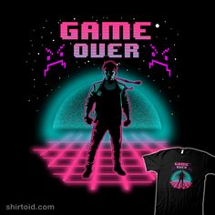 """""""Game Over"""" by beware1984 Inspired by Kung Fury"""