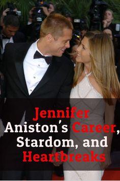 Jennifer Aniston's Career, Stardom, and Heartbreaks Jennifer Aniston Net Worth, Jennifer Aniston News, David Schwimmer, Rachel Green, First Tv, Secret Places, Celebs, Celebrities, Brad Pitt