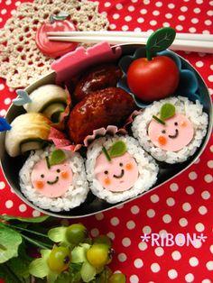^^ cute bento box!