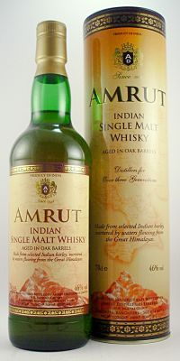 Amrut Indian Single Malt  Whisky 46%, 70cl