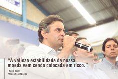 Precisamos do Aécio como presidente para que os bons projetos, como o Plano Real, não fique desvalorizado como está hoje. #AecioNeves #PlanoReal #ParaMudarOBrasil