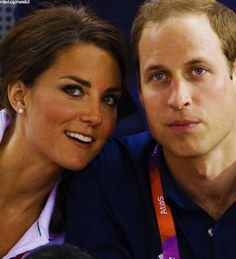 Olympics Prince William and Catherine Duchess of Cambridge, aka Kate Middleton