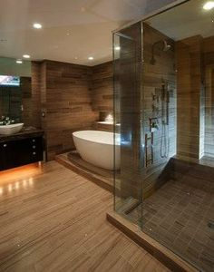 Cincinnati Condo Renovation - Master Bathroom - Contemporary - Bathroom - Cincinnati - by WiFIVE architects
