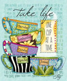 Take life one cup at a time. #coffee   And make it OG!    www.gloversgrind.organogold.com