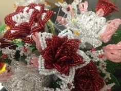 Lilien aus Perlen. Teil 1/3. Lilies out of beads. Part 1/3 - YouTube