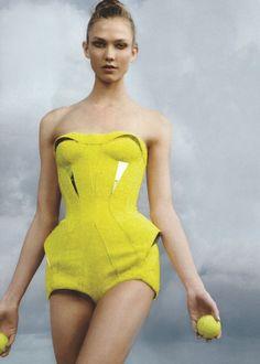Karlie Kloss by Annie Leibovitz for Vogue June 2012