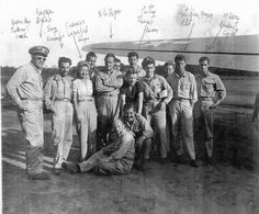 Bob Hope USO Tour. Entertainers with Mr Hope include Tony Romano, Francis Langford, Patty Thomas, Jerry Colona & Barney Dean.