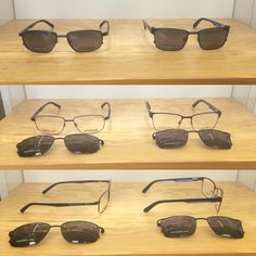 b0fcfb69f3 Come on in to take a look at some of our men s clip on frames and get the  Best a both worlds with prescription glasses that come with a poliarized  clip on ...