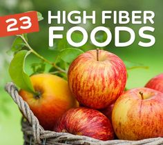 23 High Fiber Foods to Help Keep You Regular -- Fiber is an essential aspect of a healthy diet and lifestyle. Getting plenty of fiber in your diet, along with drinking lots of water, will keep you regular, which in turn helps to cleanse your color and keep your digestive system in top working order. Eat plenty of high fiber foods to stay regular and healthy.