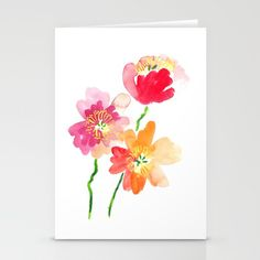 Buy Dancing Poppies Stationery Cards by susanbrand. Worldwide shipping available at Society6.com. Just one of millions of high quality products available.