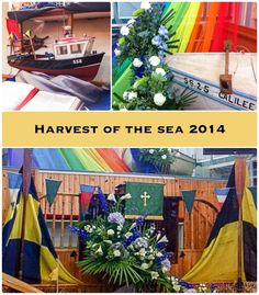 Harvest of the Sea celebration, July 2014, at FSMC St.Ives, Cornwall.