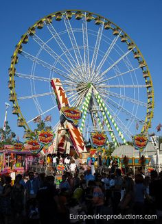 Schueberfouer, the traditional fun fair every august in Luxembourg-city #fun #luxembourg