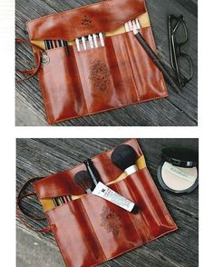 This is the perfect bag to carry your makeup pencils or maybe your design tools. What do you say? ...