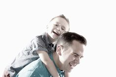 Father & Son #happy #bleached #portrait #photography #adamcasey.co.uk
