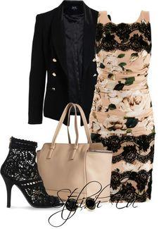 Lace & florals