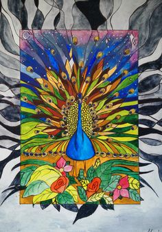 Peacock. Pavone. Trip. by Ilira Radhima