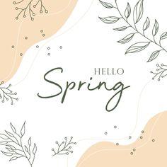 Hello Spring Pastel Floral Frame Design PNG and Vector Pastel Floral, Floral Vector Free, Spring Font, Wedding Borders, Frame Border Design, Vector Flowers, Spring Design, Frame Template, Hello Spring