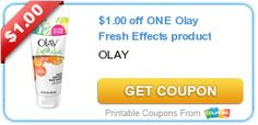 $1.00 off ONE Olay Fresh Effects product