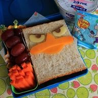 angry bird lunch @ Holly Wilcox