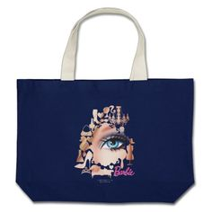 Barbie Eye Large Tote Bag