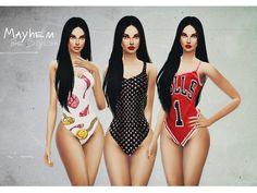 BM Swimsuits by NataliMayhem at TSR � Sims 4 Updates