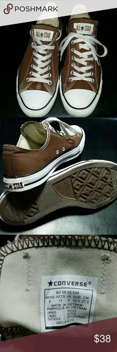 CONVERSE SNEAKERS Brown, All Star Converse sneakers. Very good condition, no visible stains or rips. Converse  Shoes Sneakers