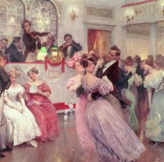 The Ball - Charles Wilda